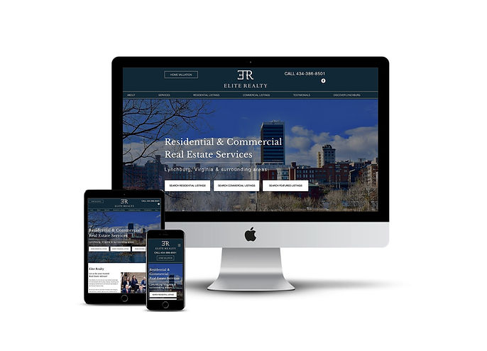 Custom website design and marketing