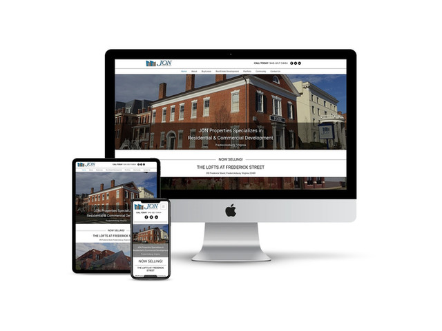 Website Design for Real Estate Developer