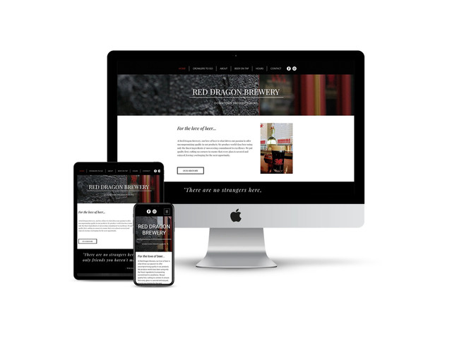 Website Design for Craft Brewery