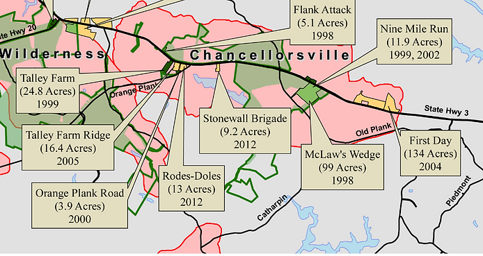 Chancellorsville | Central VA Battlefields Trust | Battlefields on