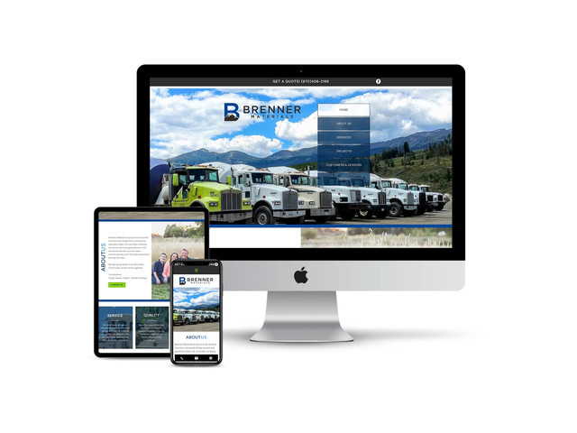 Website Design for Building Supply Contractor