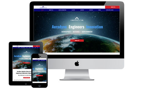 aerodyneindustries Custom website design & maintenance services for a...