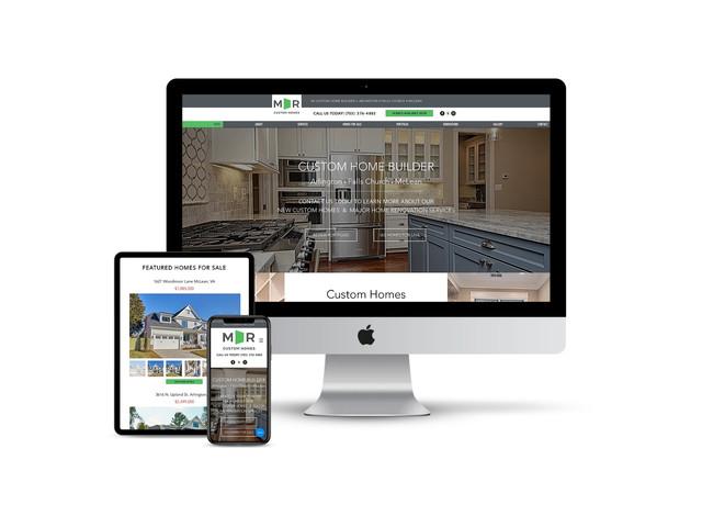 Website Design for Custom Home Builder