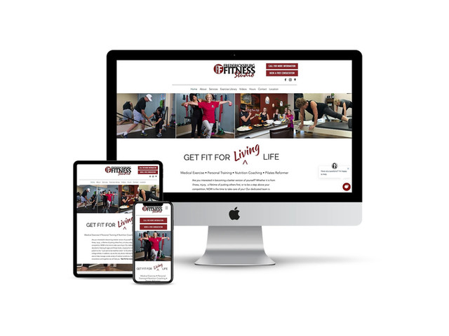 Website Design for Fitness Studio