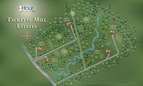 Tacketts Mill Estates Site Plan