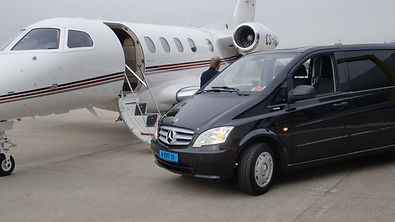 Vito 9 persoons incl. chauffeur