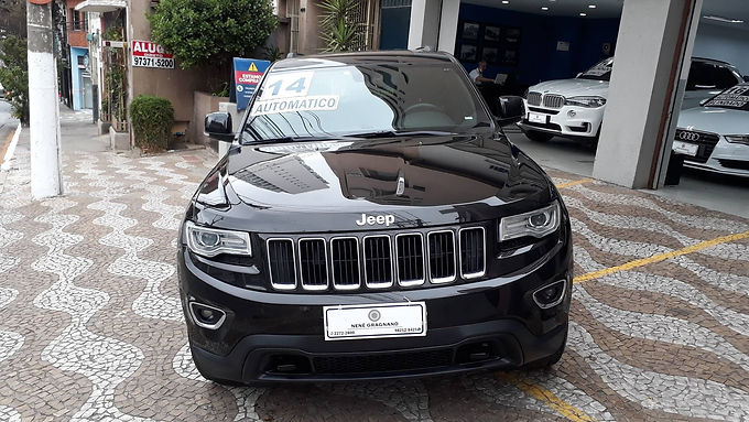 JEEP GRAND CHEROKEE 2014 3.6 LAREDO 4X4 V6 24V GASOLINA 4P AUTOMATICO