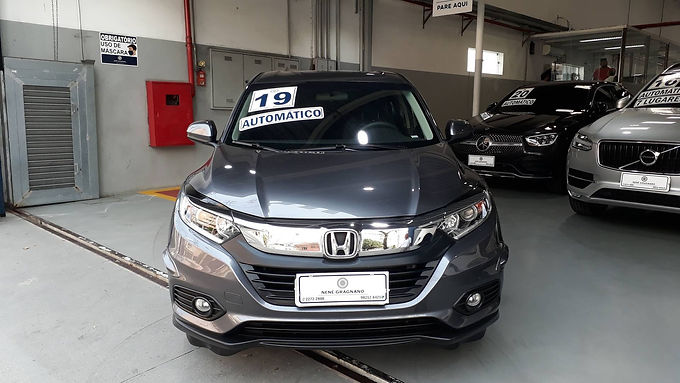 HONDA HR-V 2019 1.8 16V FLEX LX 4P AUTOMÁTICO