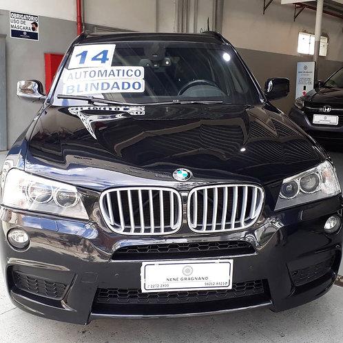 BMW X3 2014 3.0 35I M SPORT 4X4 24V GASOLINA 4P AUTOMATICO