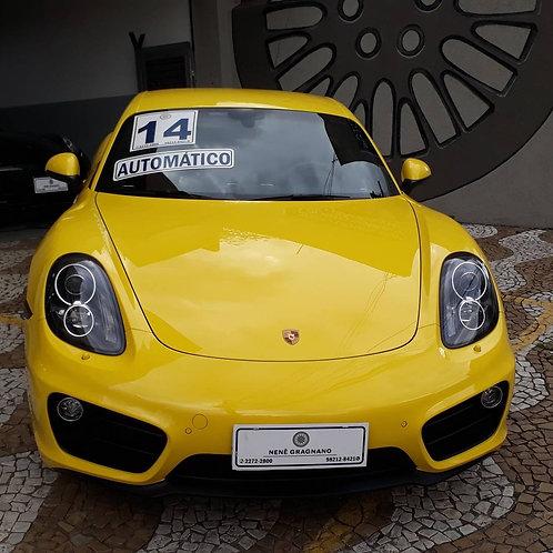 PORSCHE CAYMAN 2014 2.7 I6 24V GASOLINA 2P AUTOMATIZADO