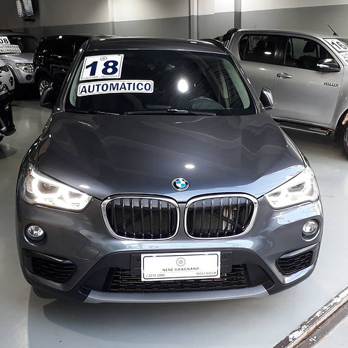 BMW X1 2018 2.0 16V TURBO ACTIVEFLEX SDRIVE20I 4P AUTOMÁTICO