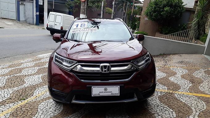 HONDA CRV 2018 1.5 16V VTC TURBO GASOLINA TOURING AWD CVT
