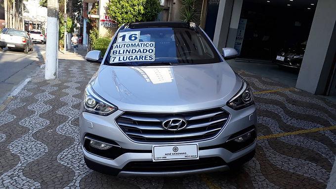 HYUNDAI SANTA FÉ 2016 3.3 MPFI 4X4 7 LUGARES V6 270CV GASOLINA