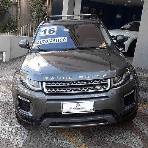 LAND ROVER RANGE ROVER EVOQUE 2016 2.0 SE 4WD 16V GASOLINA 4P AUTOMÁTICO