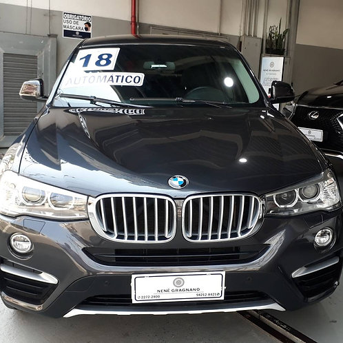 BMW X4 2018 2.0 28I X LINE 4X4 16V TURBO GASOLINA