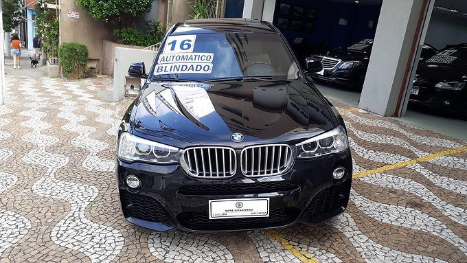 BMW X3 2016 3.0 35I M SPORT 4X4 24V GASOLINA 4P AUTOMATICO