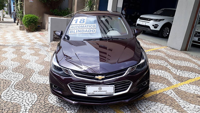 CHEVROLET CRUZE 2018 1.4 TURBO LTZ 16V FLEX 4P AUTOMÁTICO