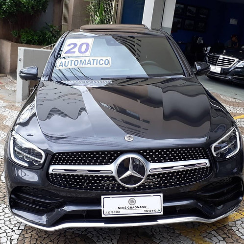 MERCEDES-BENZ GLC 300 2020 2.0 CGI GASOLINA COUPÉ 4MATIC 9G-TRONIC