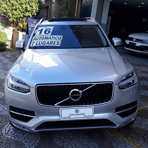 VOLVO XC90 2016 2.0 MOMENTUM TURBO GASOLINA 4P 4X4 AUTOMATICO