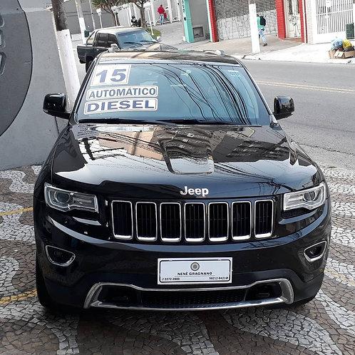 JEEP GRAND CHEROKEE 2015 3.0 LIMITED 4X4 V6 24V TURBO DIESEL AUTOMÁTICO