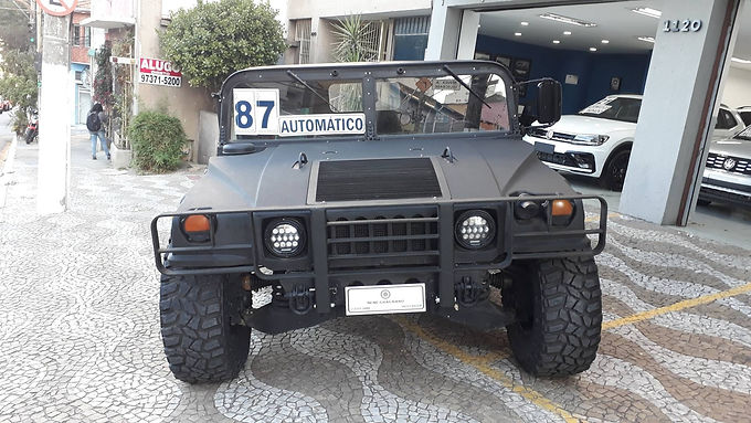 HUMMER H1 1987 6.5 4X4 HARD TOP TURBO DIESEL 4P AUTOMATICO