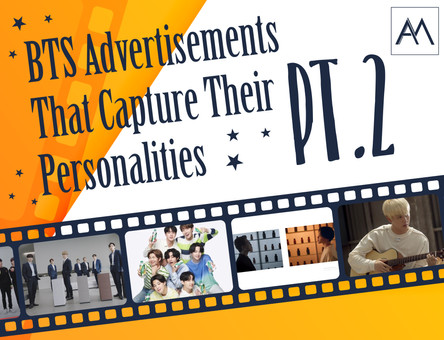 BTS Advertisements That Capture Their Personalities - pt 2