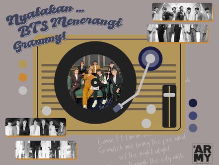 Nyalakan … BTS Menerangi Grammy!