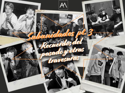 Subunidades pt. 3: Recuerdos del pasado y otras travesuras