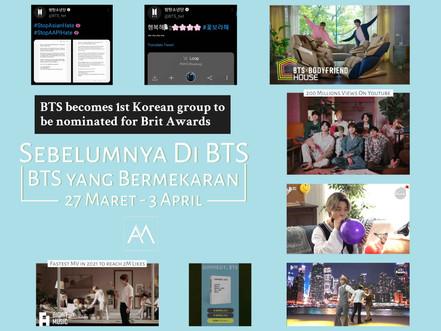 Sebelumnya di BTS: BTS yang Bermekaran 27 Maret - 3 April