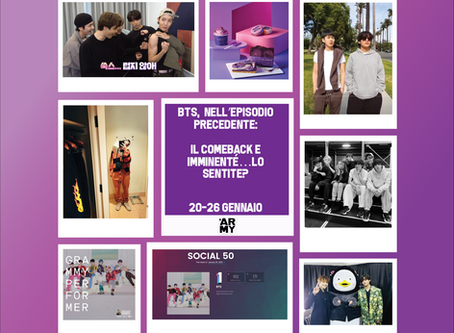 BTS,  nell'episodio precedente: 20-26 gennaio, il comeback è imminente…lo sentite?