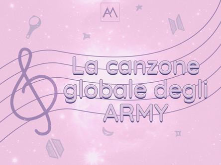 La canzone globale degli ARMY