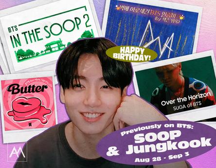 Previously on BTS: SOOP & Jungkook August 28-September 3