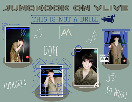 Jungkook on VLive: This is Not a Drill