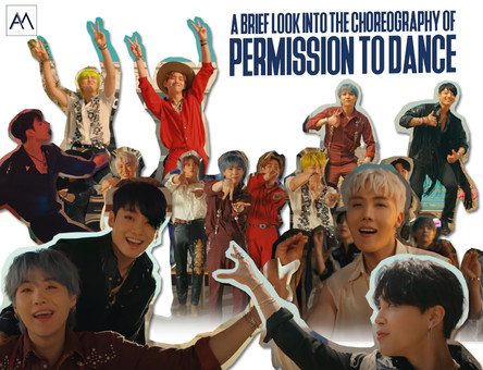 A brief look into the choreography of Permission to Dance