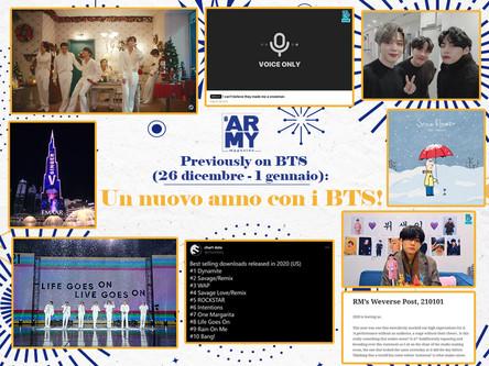 PREVIOUSLY ON BTS: UN NUOVO ANNO CON I BTS! 26 DICEMBRE - 1 GENNAIO