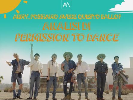ARMY, POSSIAMO AVERE QUESTO BALLO?ANALISI DI PERMISSION TO DANCE