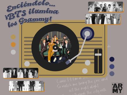 Enciéndelo… ¡BTS ilumina los Grammy!