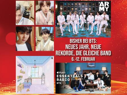 Bisher bei BTS: Neues Jahr, Neue Rekorde, Die Gleiche Band6. - 12. Februar