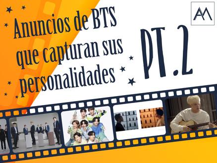 ANUNCIOS DE BTS QUE CAPTURAN SUS PERSONALIDADES - PT. 2