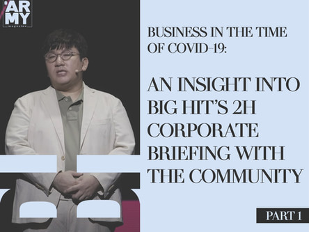 BUSINESS IN THE TIME OF COVID-19