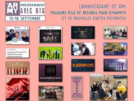 PRÉCÉDEMMENT AVEC BTS 12-18 Septembre
