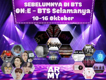 SEBELUMNYA DI BTS ON:E - BTS Selamanya 10-16 Oktober
