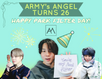ARMY's ANGEL TURNS 26: HAPPY PARK FILTER DAY!
