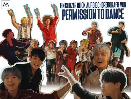 Ein kurzer Blick auf die Choreografie von Permission to Dance