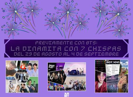 LA DINAMITA CON 7 CHISPAS Del 29 de agosto al 4 de septiembre