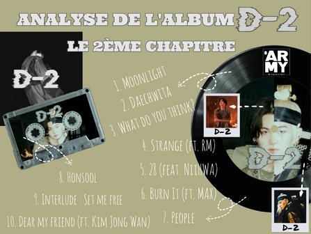 ANALYSE DE L'ALBUM D-2 : LE 2ÈME CHAPITRE