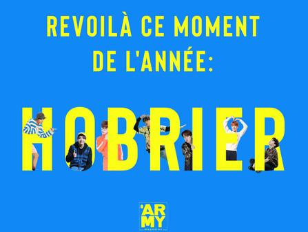 REVOILÀ CE MOMENT DE L'ANNÉE : HOBRIER !