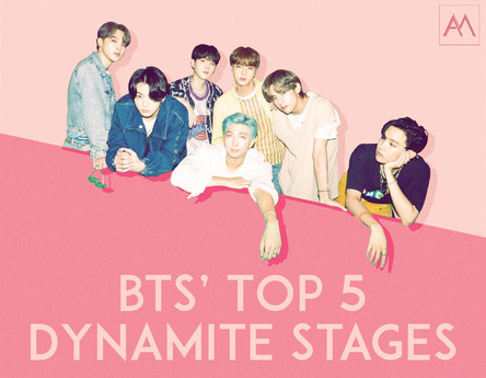 BTS' Top 5 Dynamite Stages