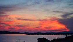 Ausblick Sonnenuntergang (OG)