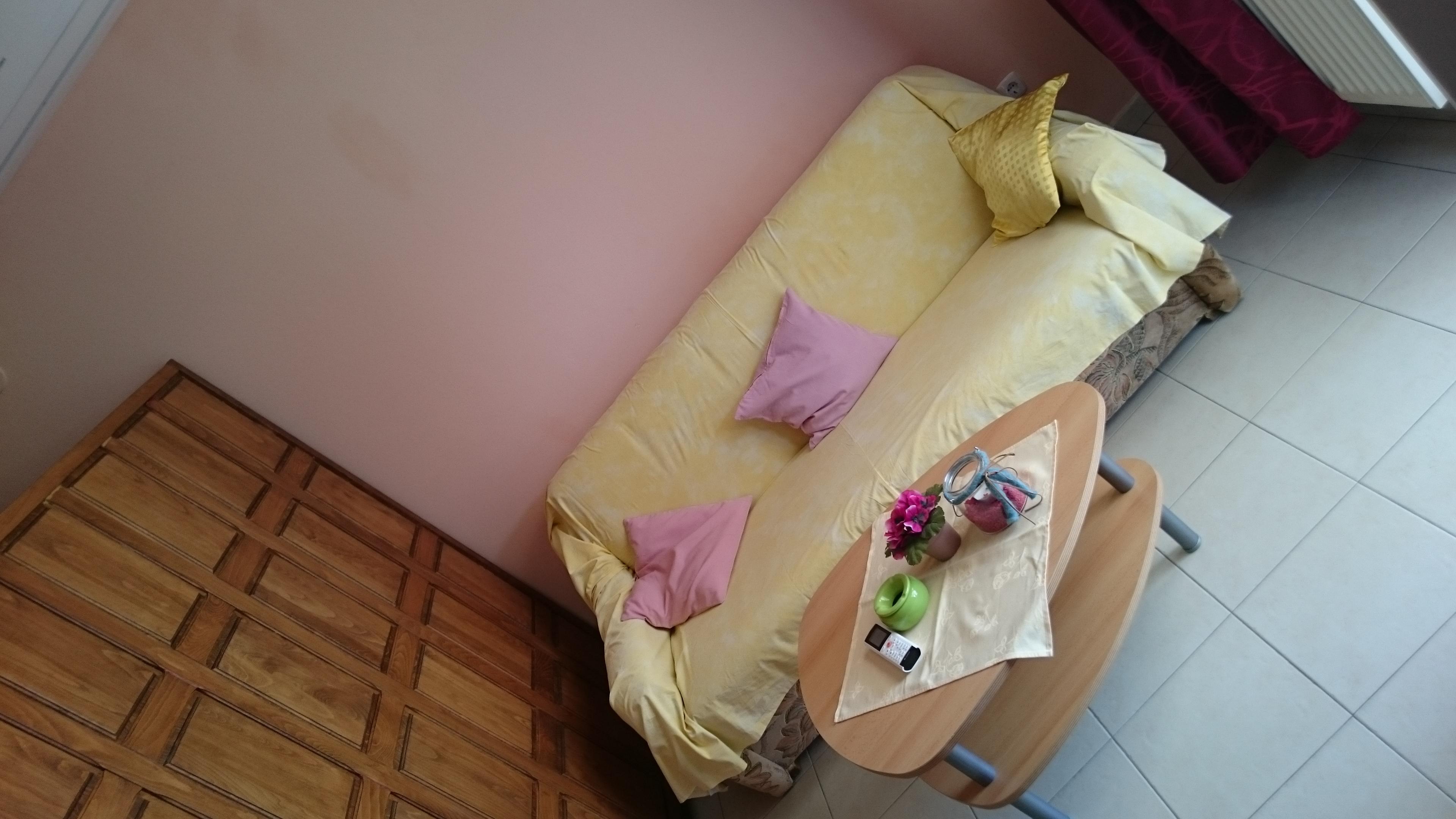 Apartment 1 - 3 (EG) mit Schafcouch